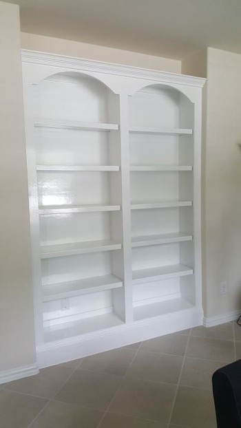 Book Shelve Painting