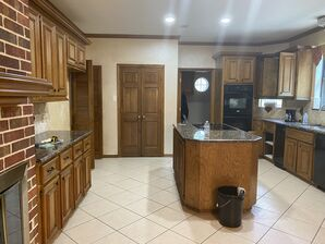 Before & After Kitchen Cabinets Re-finishing in Humble, TX (5)