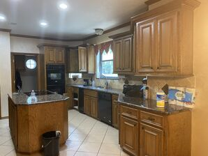 Before & After Kitchen Cabinets Re-finishing in Humble, TX (9)