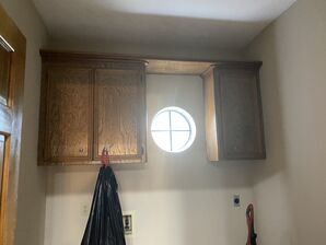 Before & After Kitchen Cabinets Re-finishing in Humble, TX (7)