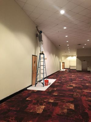 Movie Theatre Before & After Painting in Houston, TX (1)
