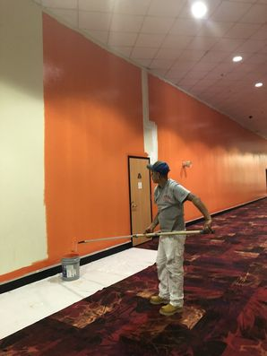 Movie Theatre Before & After Painting in Houston, TX (3)