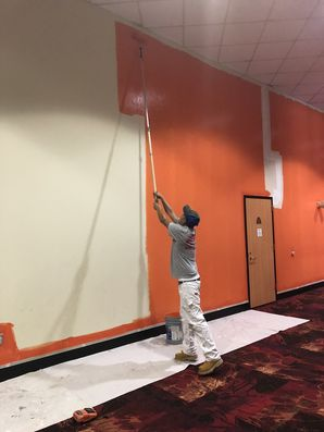 Movie Theatre Before & After Painting in Houston, TX (4)