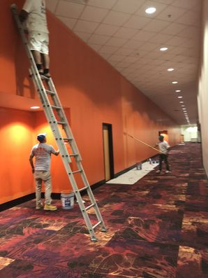 Movie Theatre Before & After Painting in Houston, TX (5)