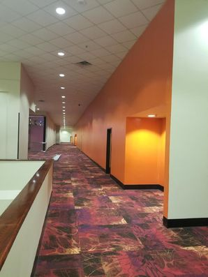 Movie Theatre Before & After Painting in Houston, TX (6)