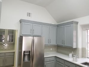 Before & After Kitchen Cabinet Painting in Houston, TX (10)