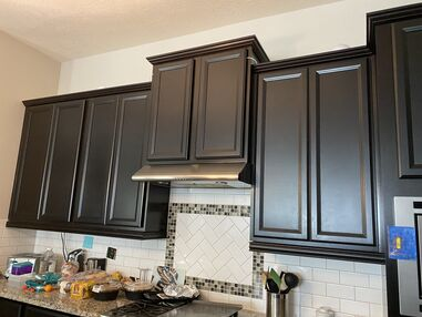 Before & After Cabinet Painting in Spring, TX (1)