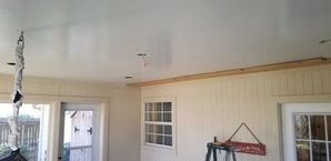 Before and After Drywall Ceiling Cover Up in Houston, TX (1)