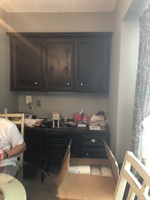 Before & After Cabinet Painting in Spring, TX (3)