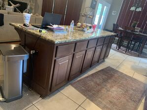 Before and After Kitchen Cabinets Refinishing in Fulshear, TX (5)