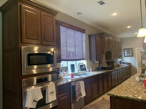 Before and After Kitchen Cabinets Refinishing in Fulshear, TX (3)