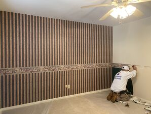 Before & After Wallpaper Removal & Interior Painting in Spring, TX (5)