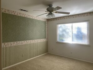 Before & After Wallpaper Removal & Interior Painting in Spring, TX (3)