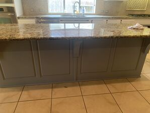 Before and After Kitchen Cabinets Refinishing in Fulshear, TX (6)