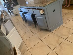 Before and After Kitchen Cabinets Refinishing in Fulshear, TX (4)