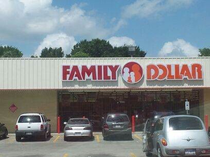 Exterior Commercial Painting of Family Dollar