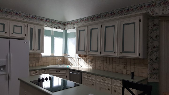 Kitchen Cabinet Painting in Spring, TX