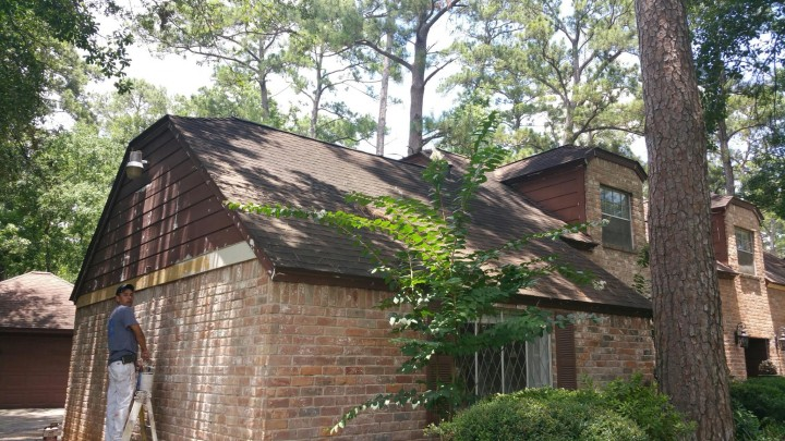 Siding Replacement and Exterior Painting in Spring, TX