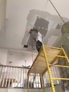 Ceiling Drywall Repair in Richmond, TX (2)