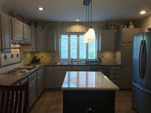 Kitchen Cabinet Painting in Sugarlad, TX (4)